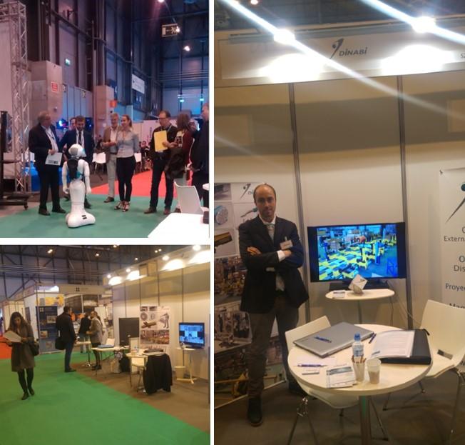 DINABI EN LA GLOBAL ROBOT EXPO MADRID-IFEMA