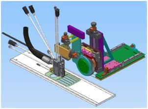 Proyecto Dinabi - Máquina test adhesivo de alta velocidad